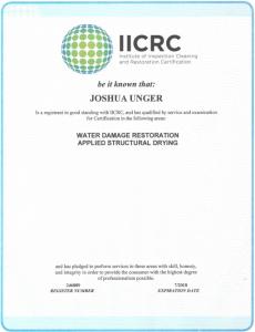 Joshua_Unger_IICRC
