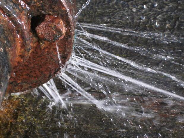 Water Damage Redan Pipe Burst
