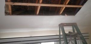 Ceiling Replacement After A Major Roof Leak
